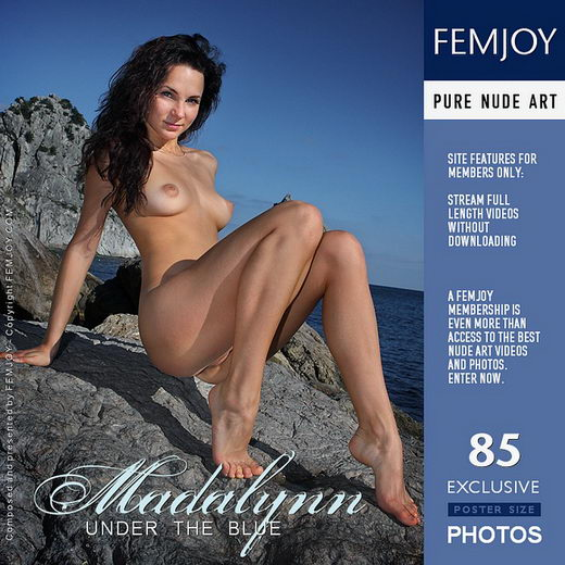 Madalynn - `Under The Blue` - by Valery Anzilov for FEMJOY