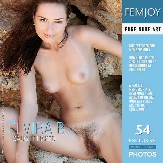 Elvira B - `Caught Naked` - by Palmer for FEMJOY