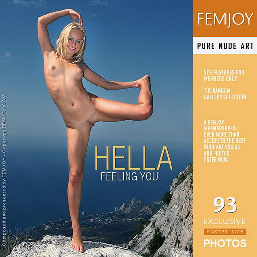 Hella - `Feeling You` - by Valery Anzilov for FEMJOY