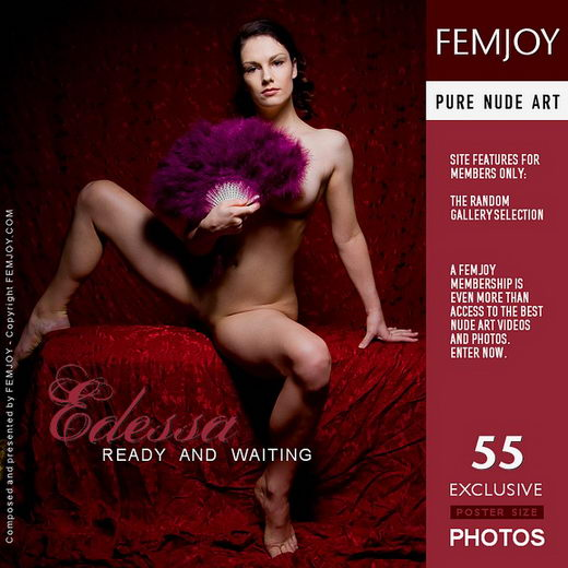 Edessa - `Ready and Waiting` - by Pedro Saudek for FEMJOY