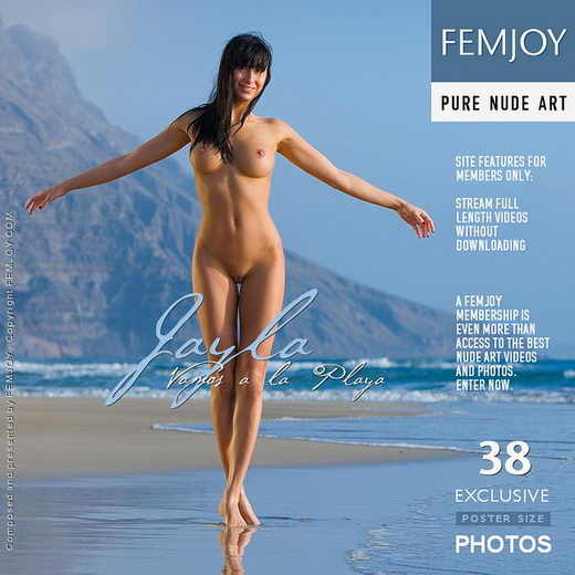 Jayla - `Vamos a la Playa` - by Stefan Soell for FEMJOY