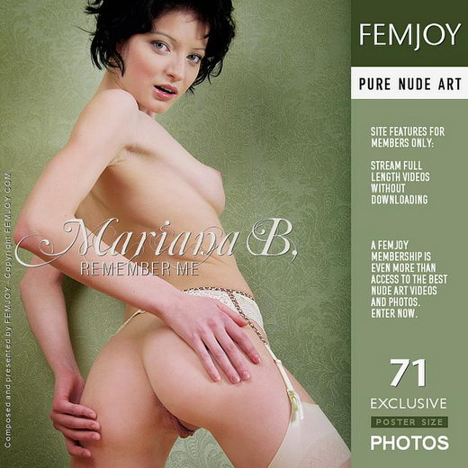 Mariana B - `Remember Me` - by Helly Orbon for FEMJOY