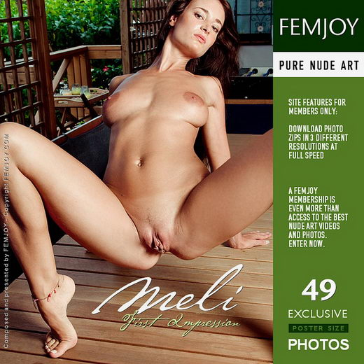 Meli - `First Impression` - by Pedro Saudek for FEMJOY
