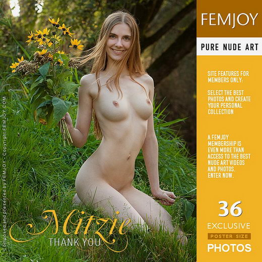 Mitzie - `Thank You` - by Stefan Soell for FEMJOY