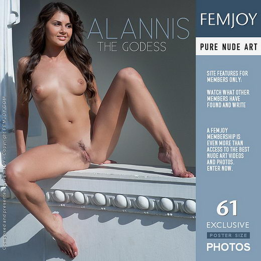 Alannis - `The Godess` - by Marian Silva for FEMJOY