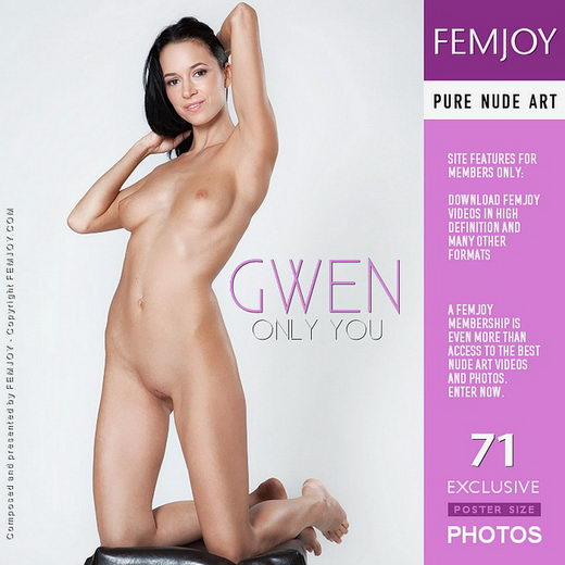 Gwen - `Only You` - by Lorenzo Renzi for FEMJOY