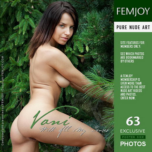 Vani - `With All My Senses` - by Lorenzo Renzi for FEMJOY