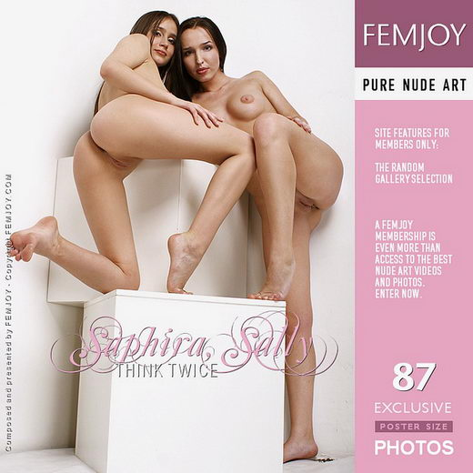 Saphira & Sally - `Think Twice` - by Pasha Lisov for FEMJOY