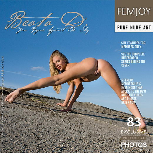 Beata D - `Your Figure Against The Sky` - by Pasha Lisov for FEMJOY