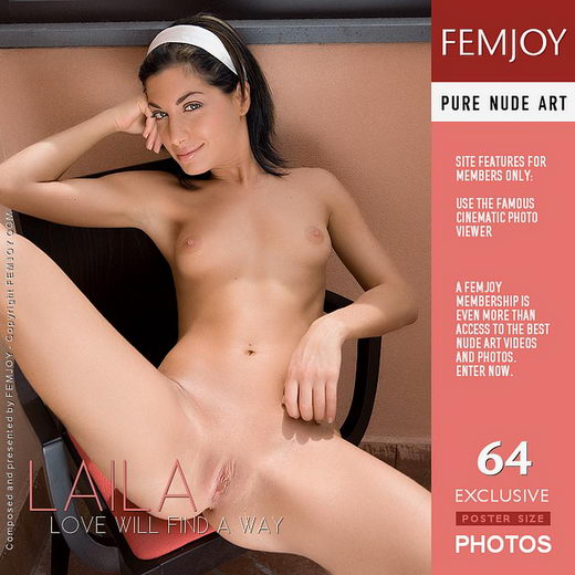 Laila - `Love Will Find A Way` - by Lorenzo Renzi for FEMJOY