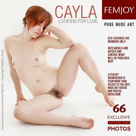 Cayla - `Looking For Love` - by Brett Michael Nelson for FEMJOY