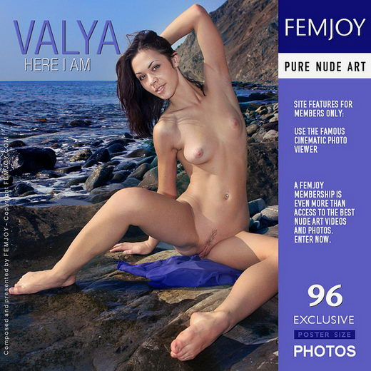 Valya - `Here I Am` - by Valery Anzilov for FEMJOY