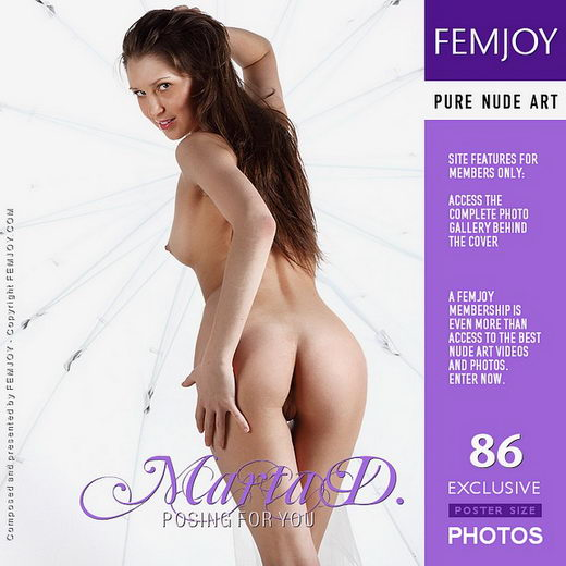 Marta D - `Posing For You` - by Platonoff for FEMJOY