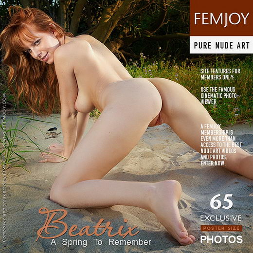 Beatrix - `A Spring To Remember` - by Lorenzo Renzi for FEMJOY