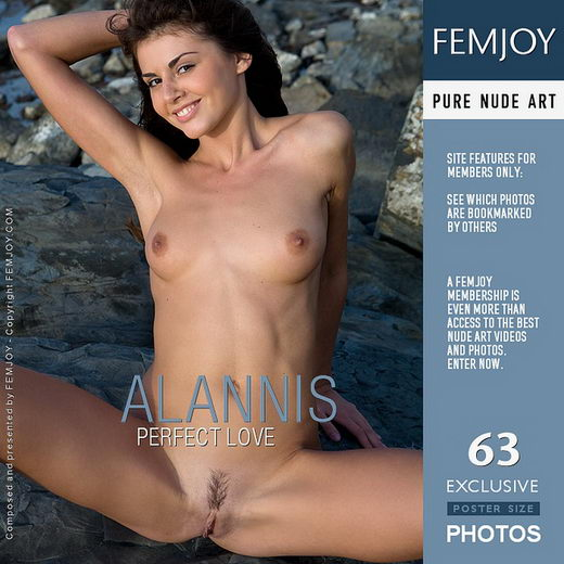 Alannis - `Perfect Love` - by Marian Silva for FEMJOY