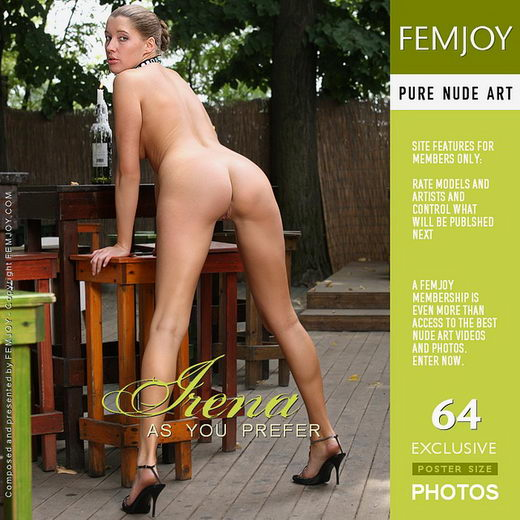 Irena - `As You Prefer` - by Palmer for FEMJOY