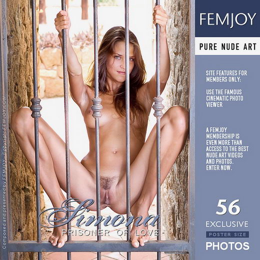 Simona - `Prisoner Of Love` - by Pedro Saudek for FEMJOY