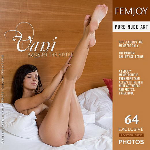 Vani - `Back to the Hotel` - by Lorenzo Renzi for FEMJOY