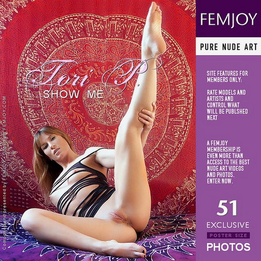 Tori P - `Show Me` - by Brett Michael Nelson for FEMJOY
