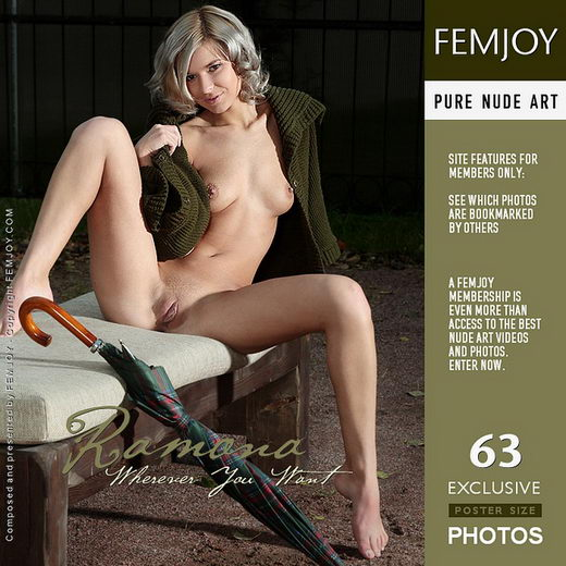 Ramona - `Wherever You Want` - by Palmer for FEMJOY