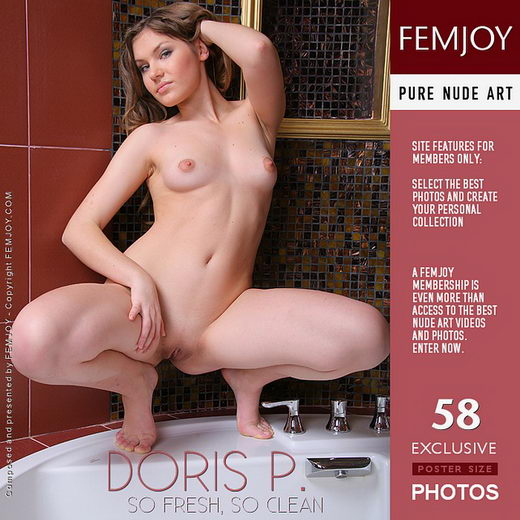 Doris P - `So Fresh So Clean` - by Helly Orbon for FEMJOY