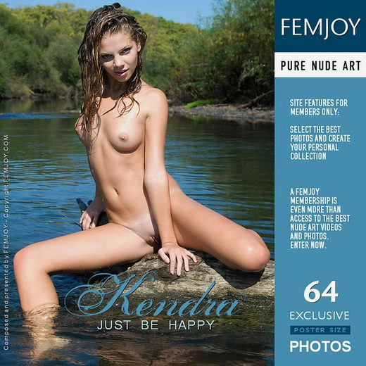 Kendra - `Just Be Happy` - by Tom Leonard for FEMJOY