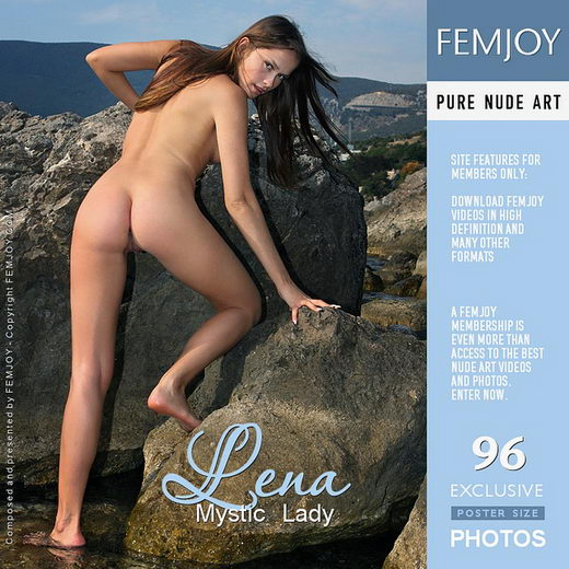 Lena - `Mystic Lady` - by Valery Anzilov for FEMJOY