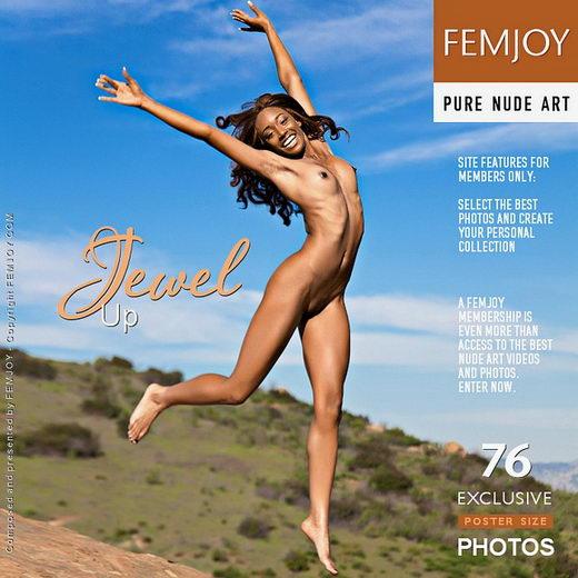 Jewel - `Up` - by Brett Michael Nelson for FEMJOY