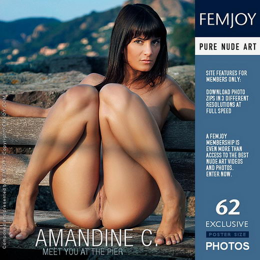 Amandine C - `Meet You At The Pier` - by Tom Rodgers for FEMJOY