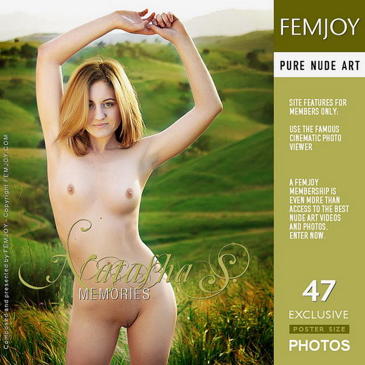Natasha S - `Memories` - by Brett Michael Nelson for FEMJOY