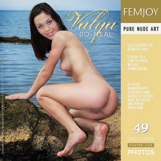 Valya - `So Real` - by Valery Anzilov for FEMJOY