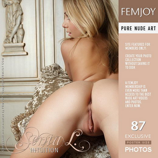 Senta L - `Intuition` - by Philipp Rusono for FEMJOY