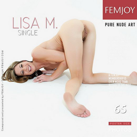 Lisa M - `Single` - by Brett Michael Nelson for FEMJOY