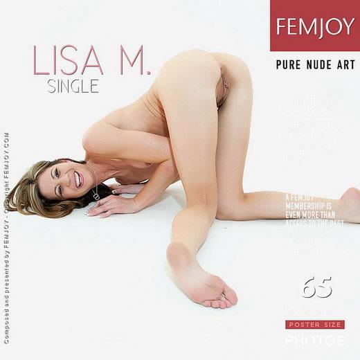 Lisa M - `Single` - by Brett Michael Nelson for FEMJOY