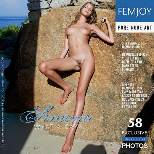 Simona - `What A Day` - by Pedro Saudek for FEMJOY