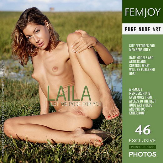Laila - `Let Me Pose For You` - by Tom Rodgers for FEMJOY
