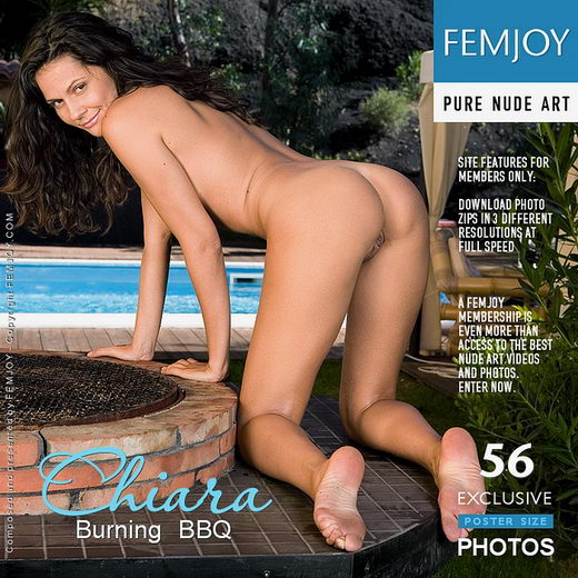 Chiara - `Burning BBQ` - by Lorenzo Renzi for FEMJOY