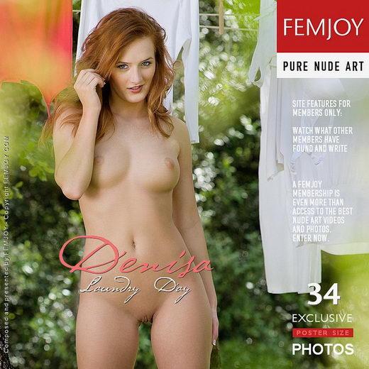 Denisa - `Laundry Day` - by Stefan Soell for FEMJOY