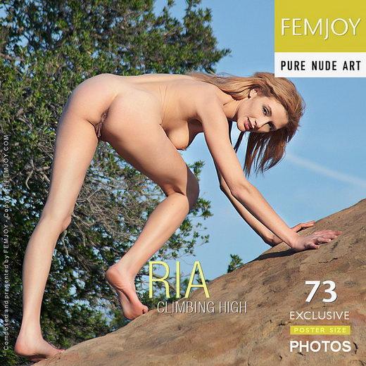 Ria - `Climbing High` - by Brett Michael Nelson for FEMJOY