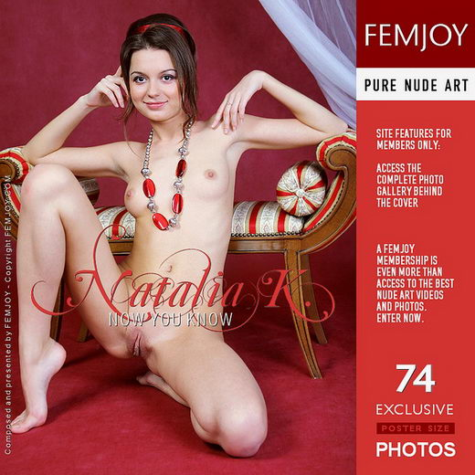 Natalia K - `Now You Know` - by Helly Orbon for FEMJOY