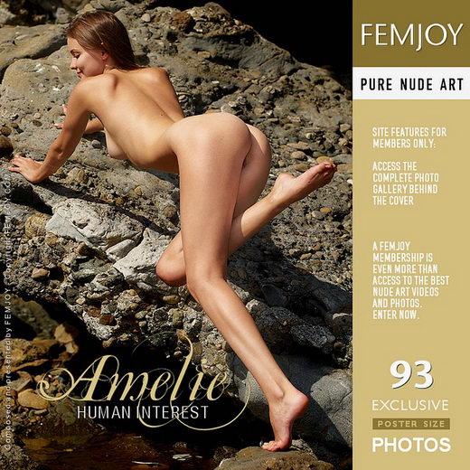 Amelie - `Human Interest` - by Jan Svend for FEMJOY