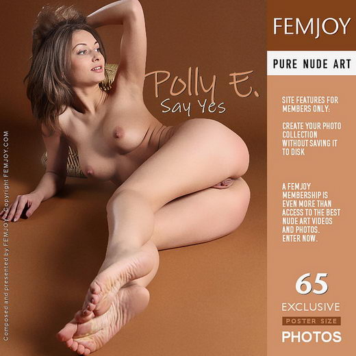 Polly E - `Say Yes` - by Platonoff for FEMJOY