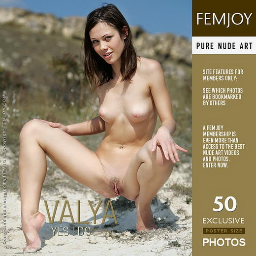 Valya - `Yes I Do` - by Marco Argutos for FEMJOY