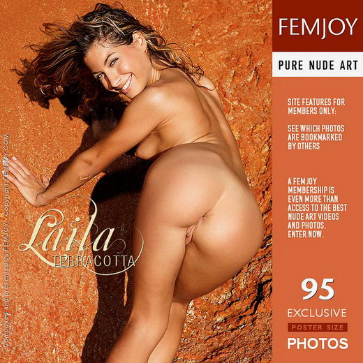 Laila - `Terracotta` - by Eric C for FEMJOY