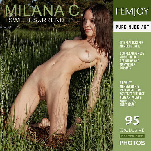 Milana C - `Sweet Surrender` - by Valery Anzilov for FEMJOY
