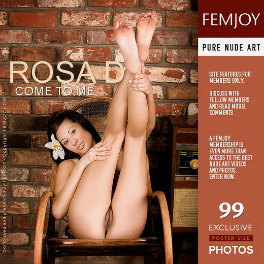 Rosa D - `Come to Me` - by Pasha Lisov for FEMJOY