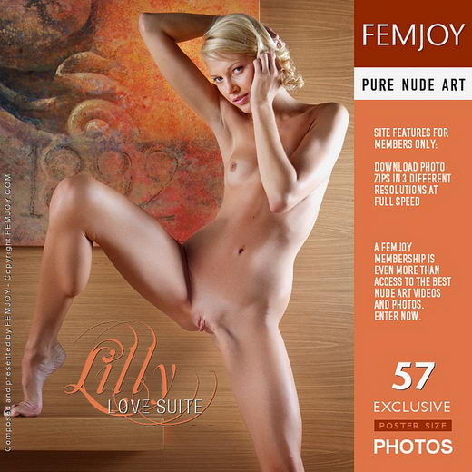 Lilly in Love Suite gallery from FEMJOY by Lorenzo Renzi