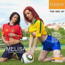 Melisa & Ariel - Nude World Champions