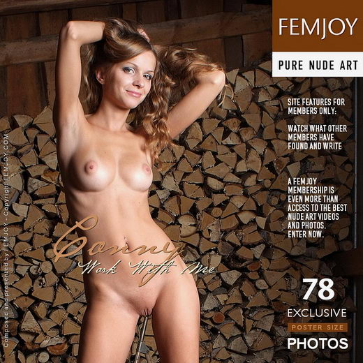 Conny - `Work With Me` - by Georg for FEMJOY
