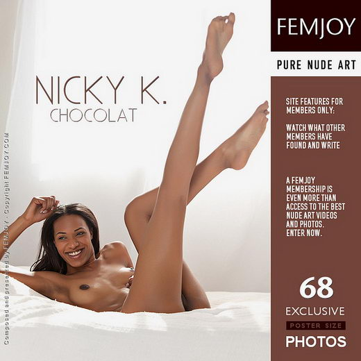 Nicky K - `Chocolat` - by Brett Michael Nelson for FEMJOY